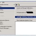 SQL Server Replication – Setup and configure a SQL Server 2000 as a main Publisher/Distributor – Part 2 of 4