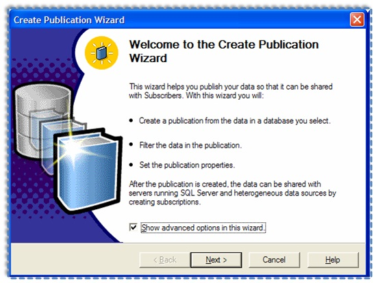02 Setup and configure the Publication