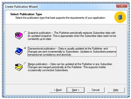 03 Setup and configure the Publication