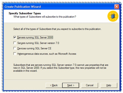 04 Setup and configure the Publication