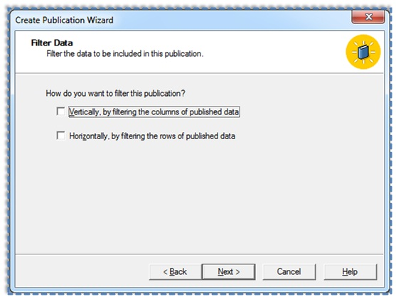 09 Setup and configure the Publication