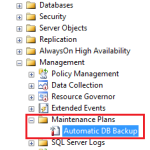SQL Server – Migrate/Transfer Maintenance Plan from one Instance to another
