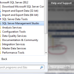 Schedule Automatic Backup in SQL Server 2012 – Part1