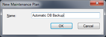 Schedule Automatic Backup in SQL Server 2012 -Part1