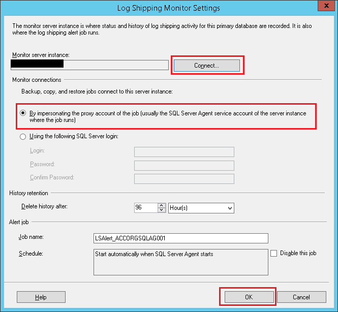 SQL Server -Log shipping for Disaster-Recovery Solution